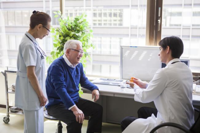 専門医による診療と人間性あふれる看護