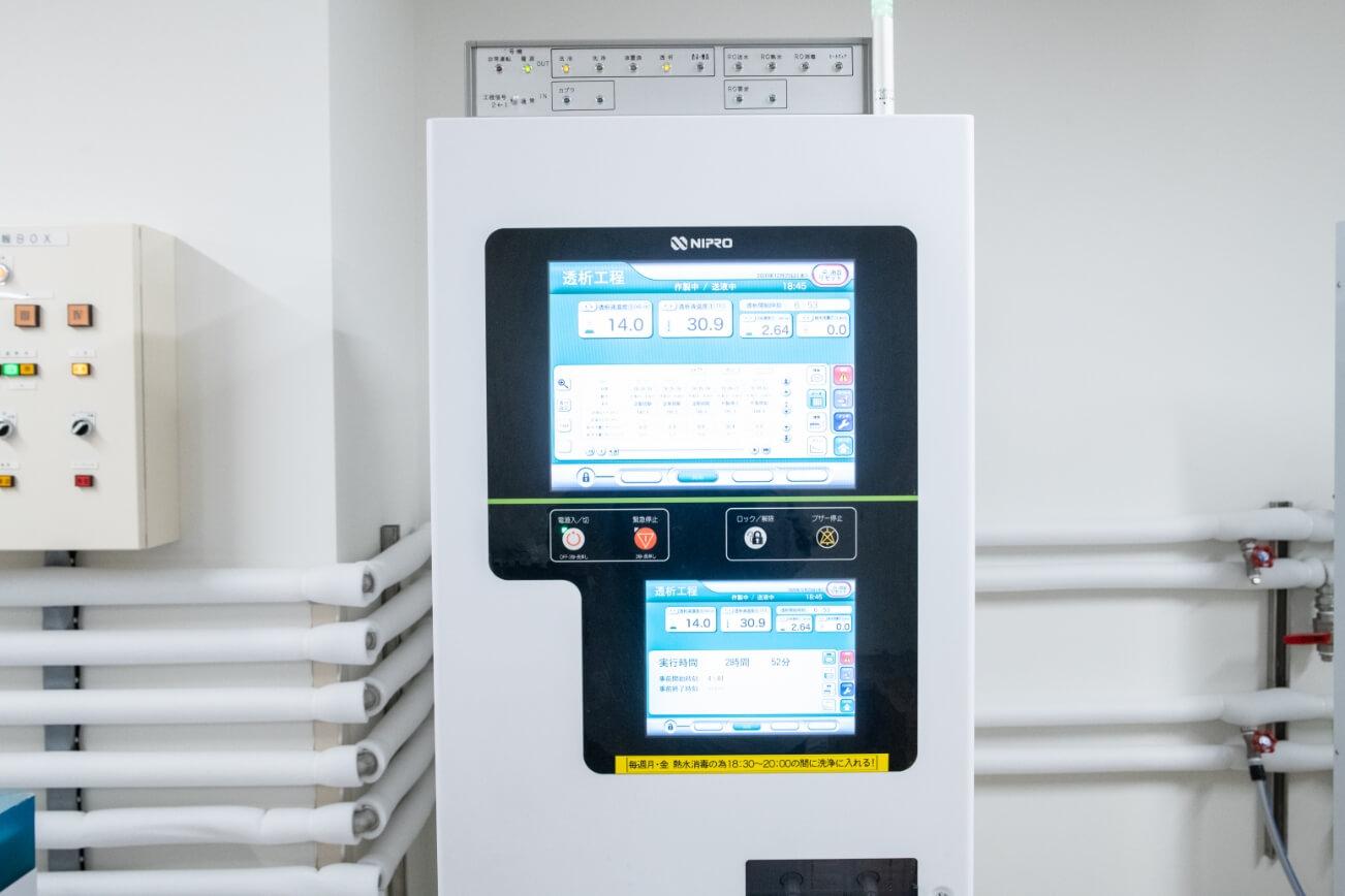 最新医療機器の導入と充実した医療設備